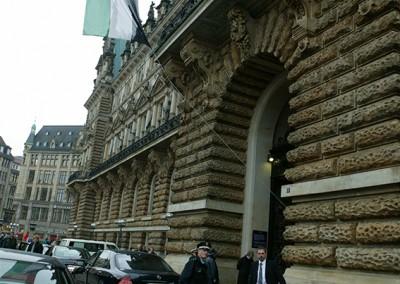 04 Ankunft HH Rathaus