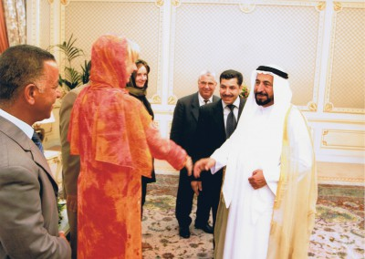 06 Shake hands with his highness