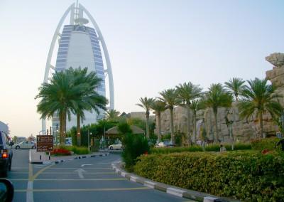 01 DUBAI_BURJ_AL_ARAB Anfahrt